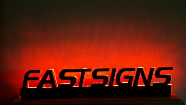LED Illuminated Display for Fastsigns tradeshow