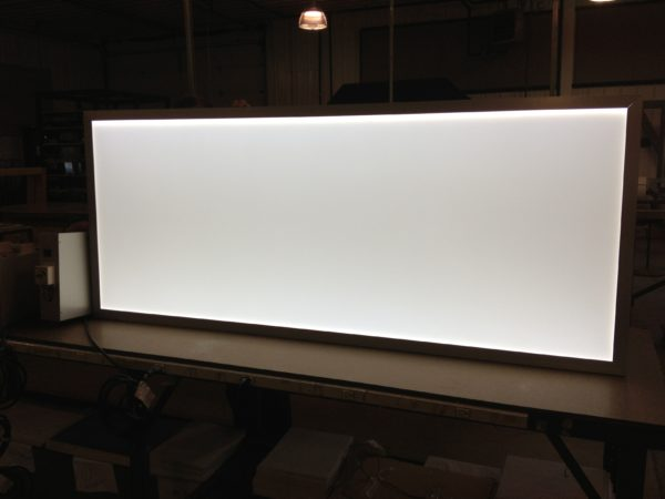 48 x 96″ LED thin panel light box