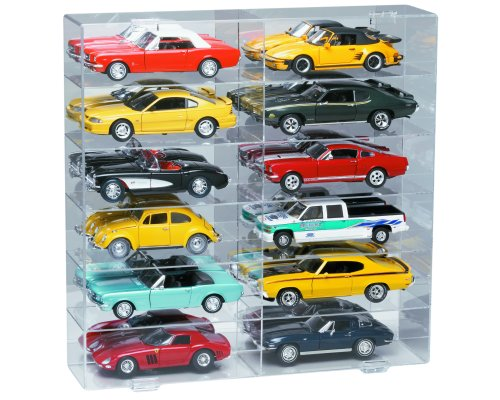 6 Shelves for 1/18 Scale Cars & Trucks