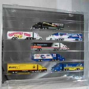 7 Shelf 1/64 Scale Hauler Display Case